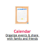 Organize Grocery list & Events