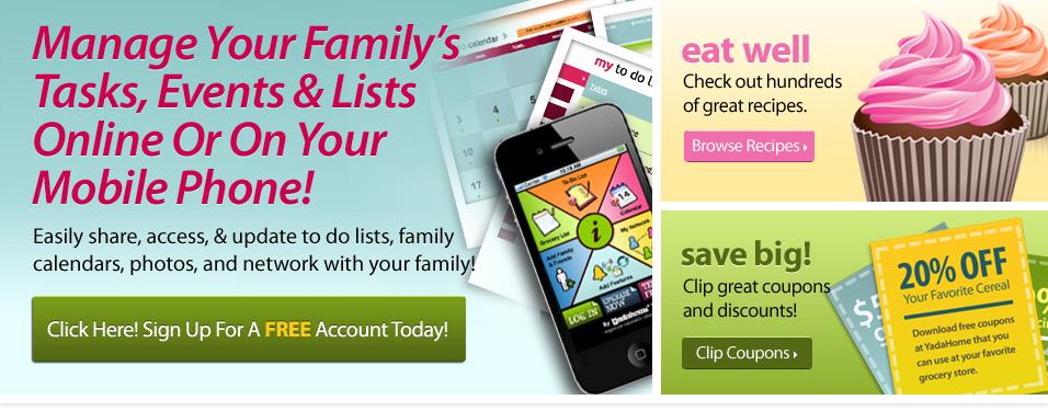 Family Organizer | Calendar For Moms| Family Calendar